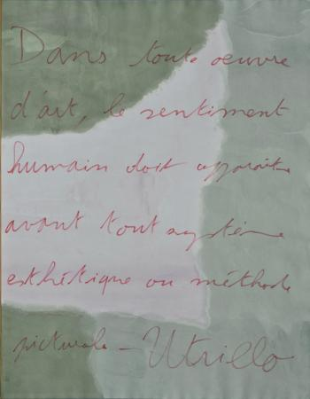 Citation d'Utrillo
